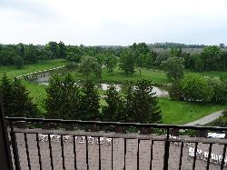 Room in Nottawasaga Inn Resort and Conference Centre, near Alliston Ontario.  View of golf course and Nottawasaga River.