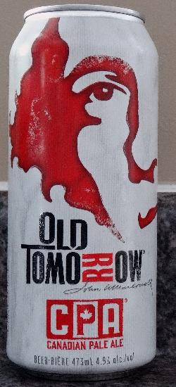 Canadian Pale Ale - Old Tomorrow - Can - Front