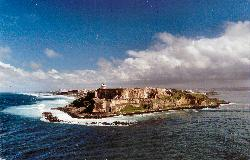 San Juan - El Morro - from cruise ship