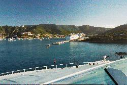 Charlotte Amelie port in St. Thomas