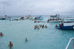 Stingray excursion from Carnival Cruise Lines at Grand Cayman Islands.