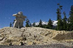 Inukshuk at Whistler Olympic Park